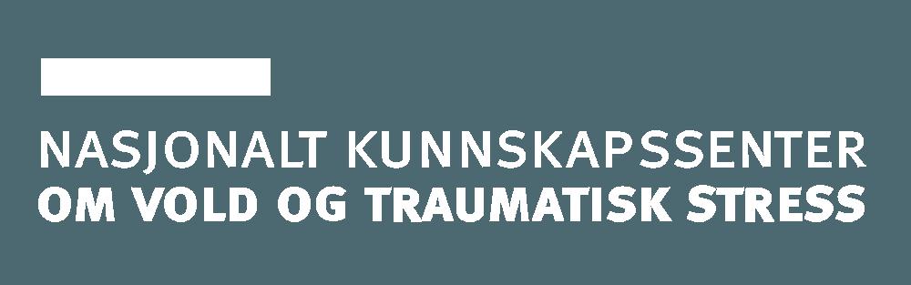 Logo Nasjonalt Kunnskapssenter om Vold og Traumatisk Stress