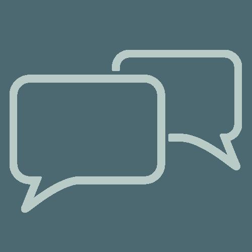 Ikon tilhørende Dialog er viktig