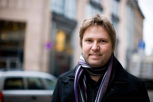 Kjartan Leer-Salvesen. Fotograf Jan Ivar Vik